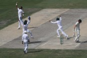 Six-wicket Bilal sparks spectacular Australian collapse