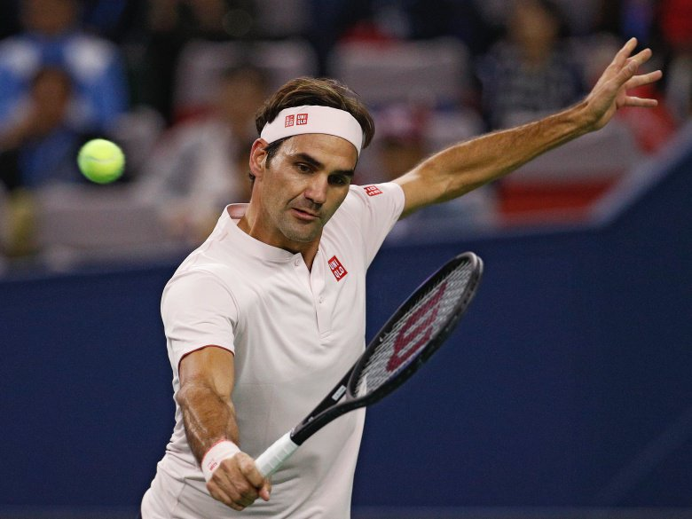 Federer, del Potro, Zverev all win at Shanghai Masters