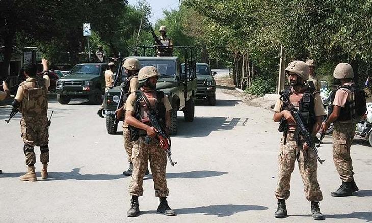 Three soldiers killed in bomb blast in NW Pakistan