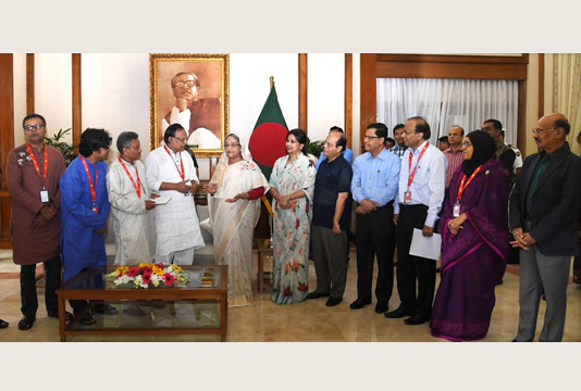 Prime Minister provides Tk 20cr to journalist welfare trust fund