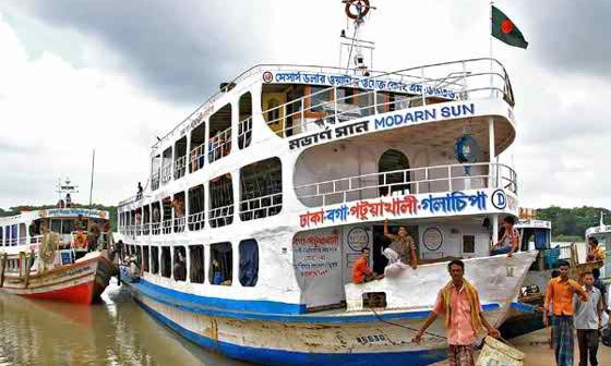 River transport services resume