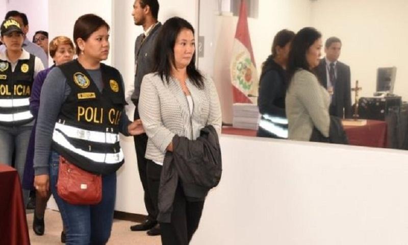 Peru opposition leader Keiko Fujimori arrested