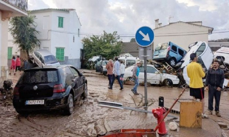 Majorca flash flood kills at least 10 on Spanish island