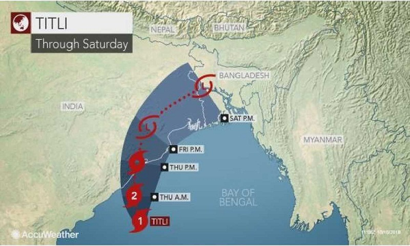 Cyclone 'Titli': Maritime ports asked to hoist signal 4