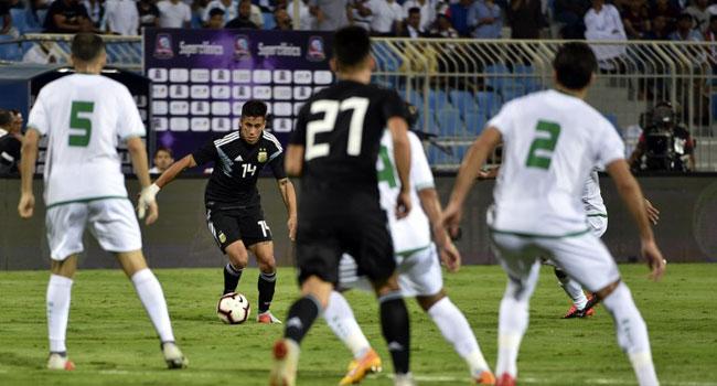 Messi-less Argentina beat Iraq 4-0