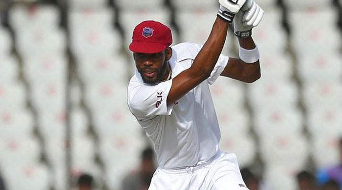 Chase's 98 boosts West Indies in second Test against India