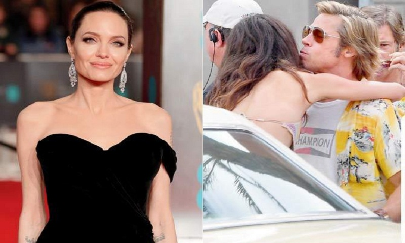 Angelina Jolie emotional after seeing Brad Pitt embrace co-star
