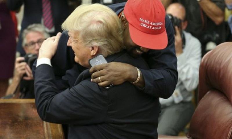 Kanye: 'Trump made me feel like Superman'