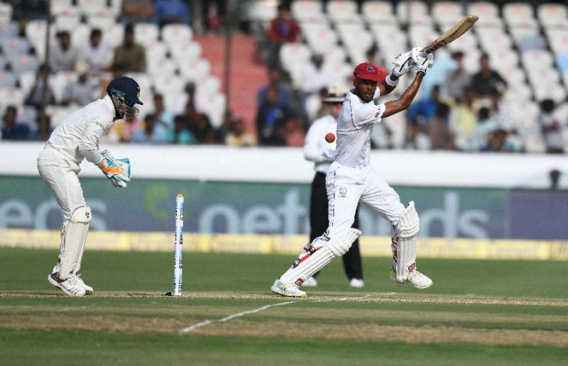 Umesh six-for helps dismiss West Indies for 311
