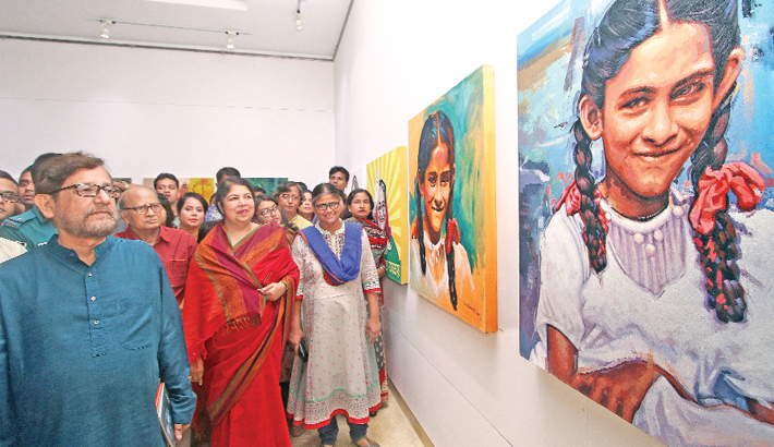 71 photos displayed for PM's birthday