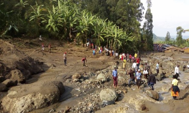 Uganda landslide near Mount Elgon kills more than 40