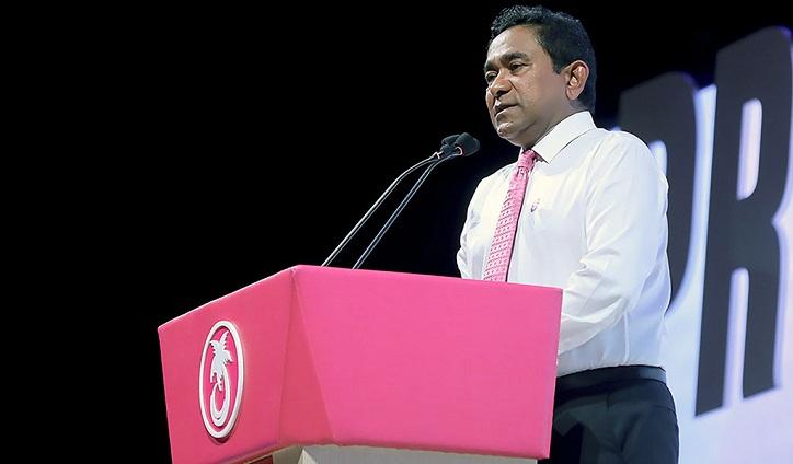US warns Maldives leader against underming vote result