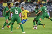Brazil make heavy work of beating Saudi Arabia in friendly