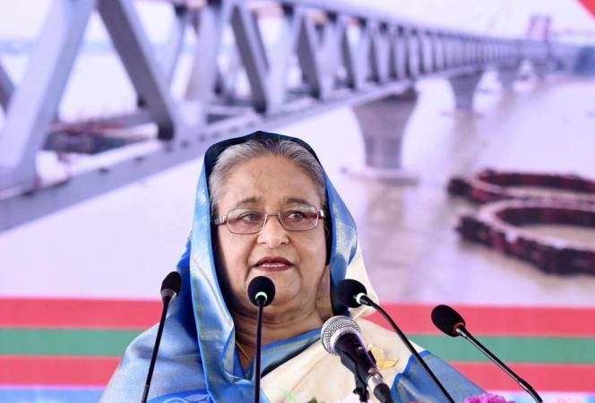 Govt to give befitting reply to those trying  to tarnish country's image: PM Sheikh Hasina