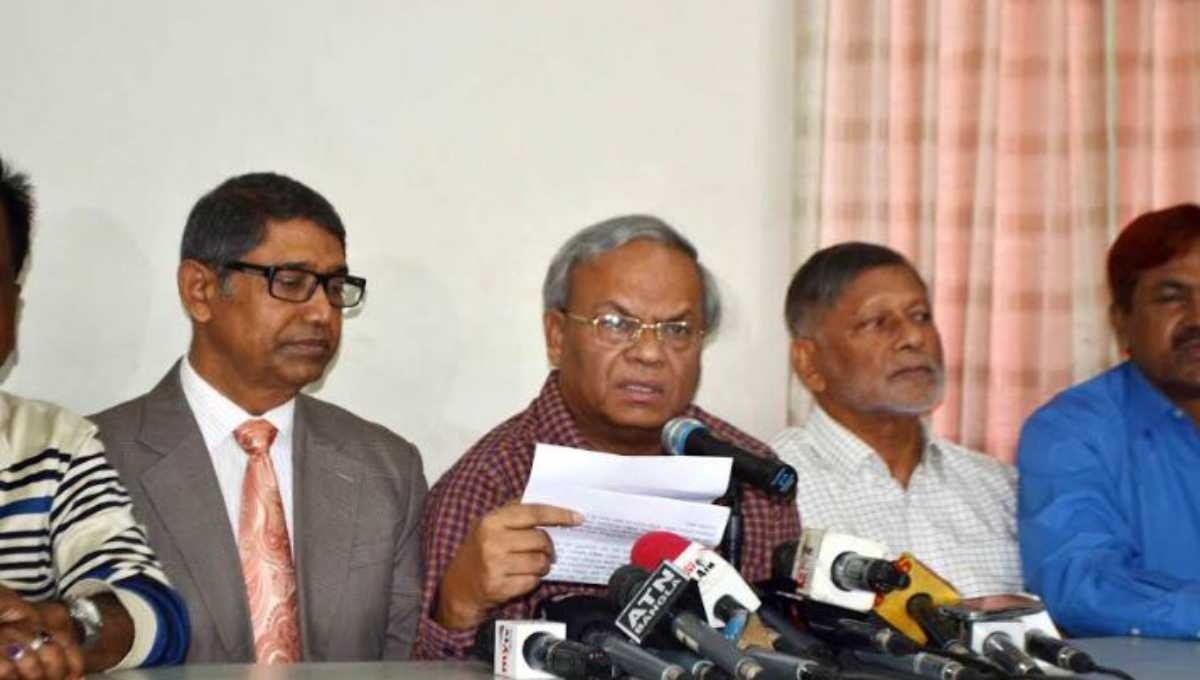 BNP slams government for filing 'fictitious' cases against its leaders