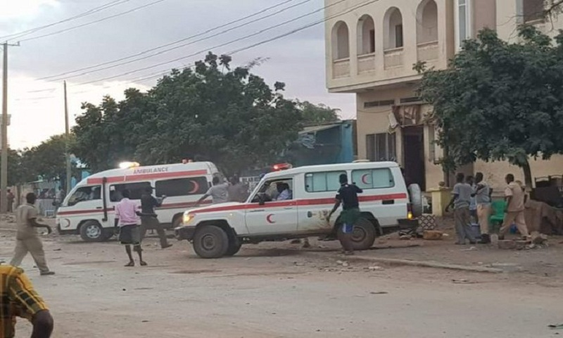 At least 16 dead in Somalia suicide bombings: Police
