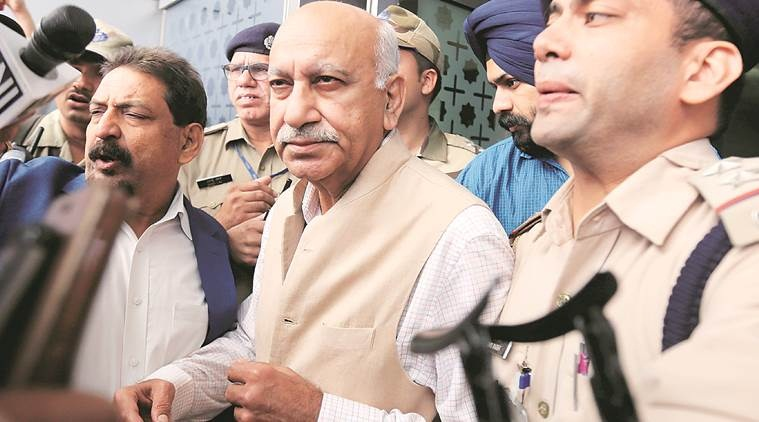 MJ Akbar sues woman journo over sexual harassment accusation