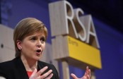 Scottish leader vows to reject UK PM's Brexit deal