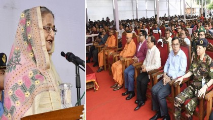 Bangladesh set example of religious harmony, says Prime Minister