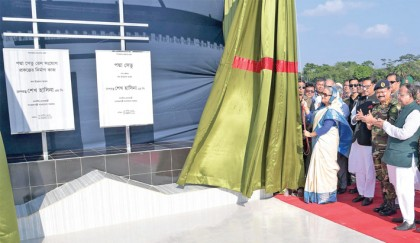 Padma Bridge plotters to get befitting reply: PM