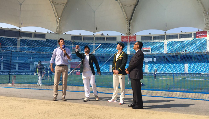 Pakistan wins toss, opts to bat in 2nd test vs Australia