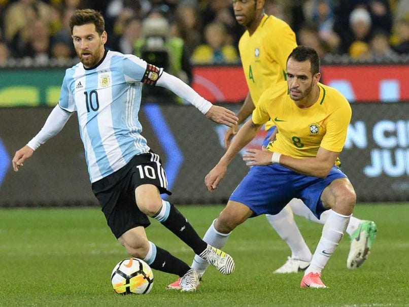 No Messi but Argentina 'have to' beat Brazil, says Romero