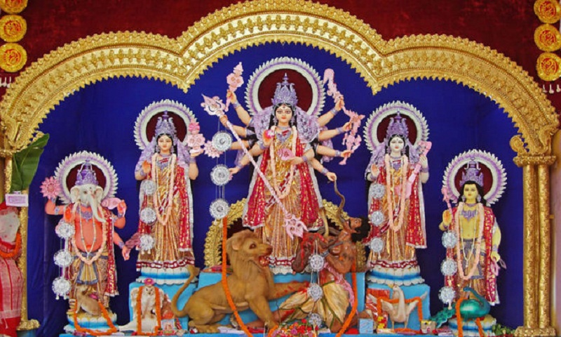 Maha Saptami celebrated across the country