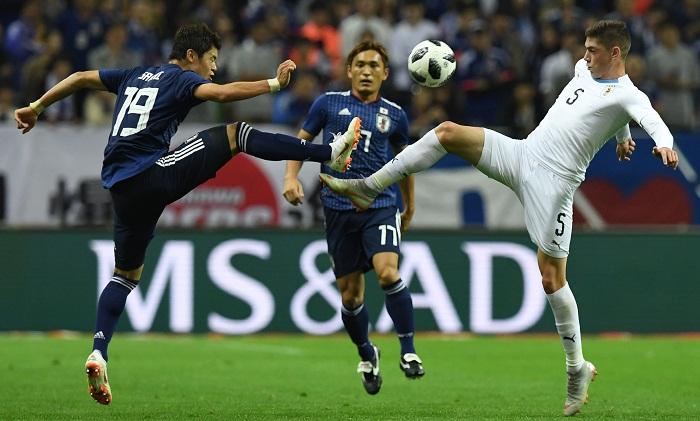 Japan stun Uruguay by 4-3 defeat