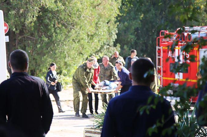 Gun attack at Crimea's Kerch college kills 19