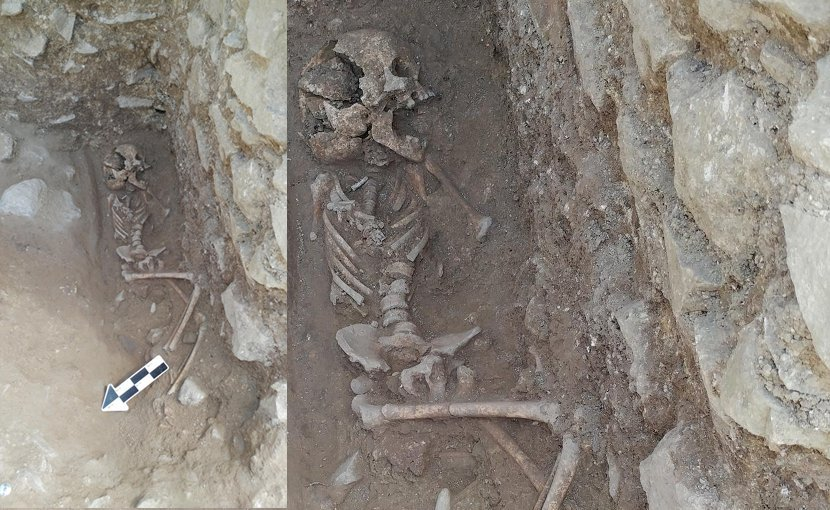 'Vampire burial' of child with malaria discovered