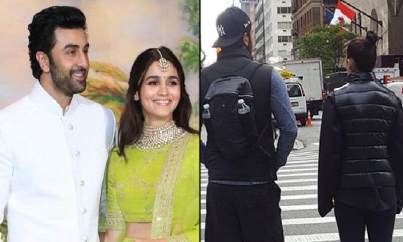 Ranbir Kapoor spends quality time with Alia Bhatt, mum Neetu Singh in New York