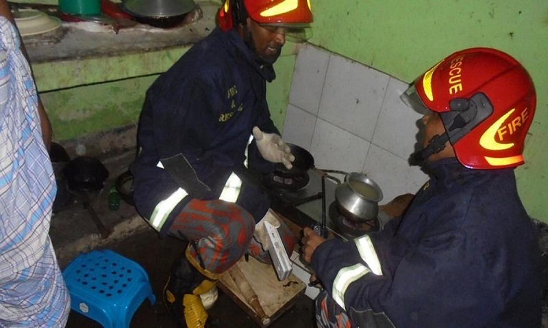 Uttarkhan gas fire death toll now 5