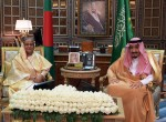 Hasina meets Saudi King Salman