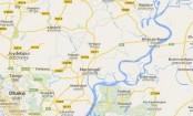 Police cordon of militant den in Narsingdi