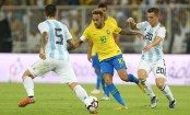 Brazil beat Messi less Argentina by 1-0 goal