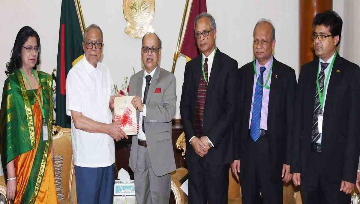 President stresses on quality research