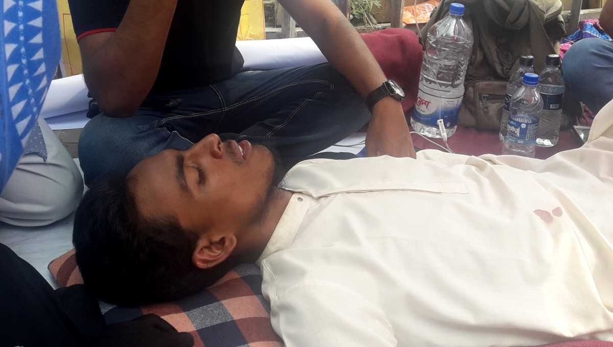 Dhaka University student Akhter falls sick; admitted to DMCH
