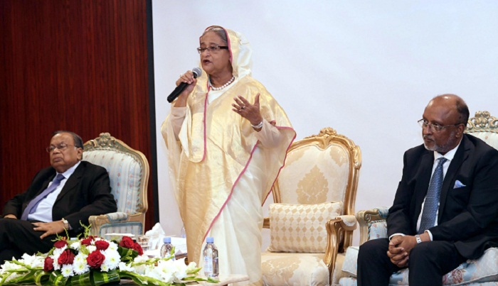None can stop Bangladesh's pace of development: PM