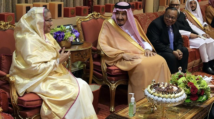 Saudi King hopes continuity of Sheikh Hasina government
