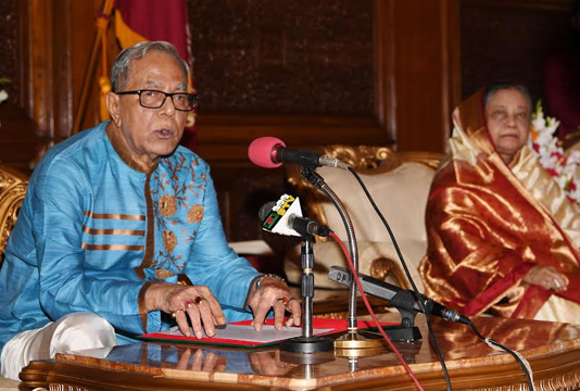 President for preventing evil forces to continue country's development