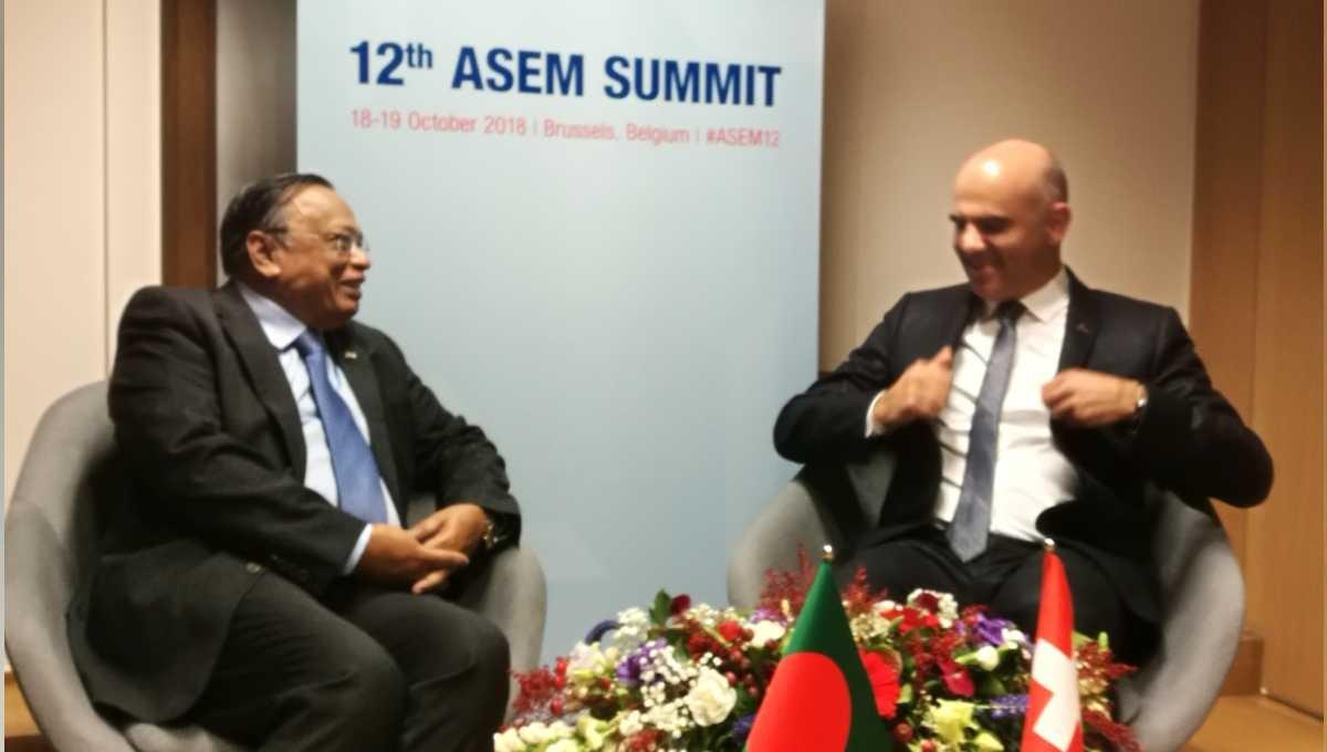 Switzerland assures Bangladesh of strong support to resolve Rohingya crisis