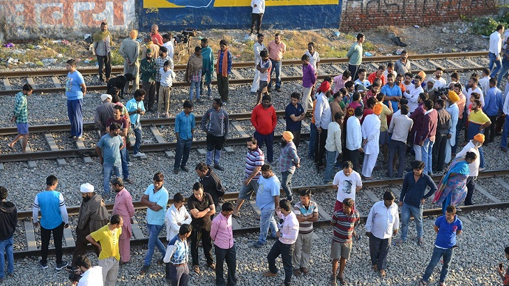 India train disaster families protest amid anger over safety