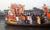 Durga Puja ends with Devi immersion