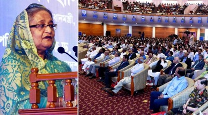 Went for Padma Bridge construction defying opposition from minister, adviser: PM