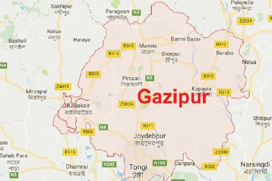Cop killed in Gazipur road crash