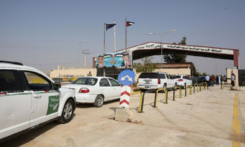 At Jordan border, Damascus seeks to revive regional trade