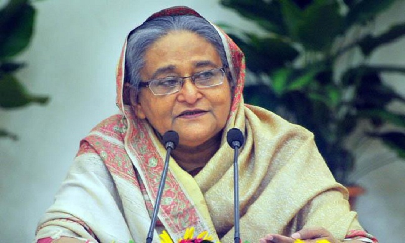 No way to be unemployed: Prime Minister Hasina