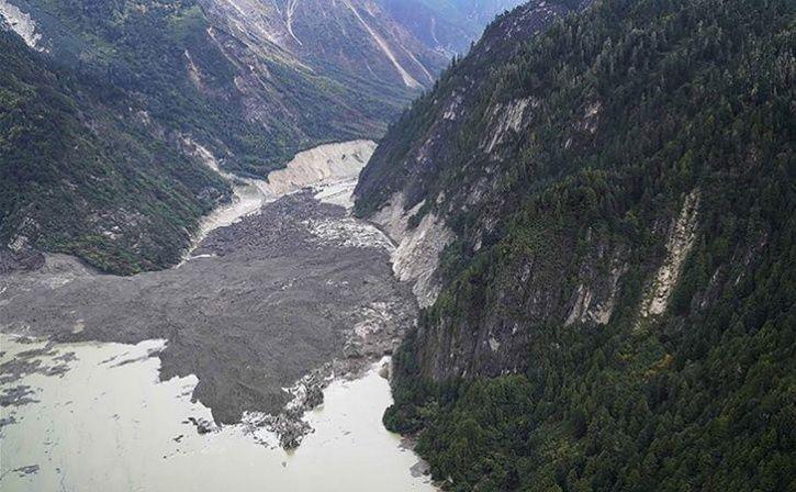 China orders evacuations after landslide blocks Tibet river