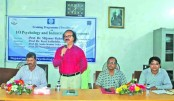 Training on psychology and industrial  development held at JnU