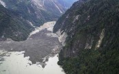 China orders evacuations after landslide blocks Tibet river